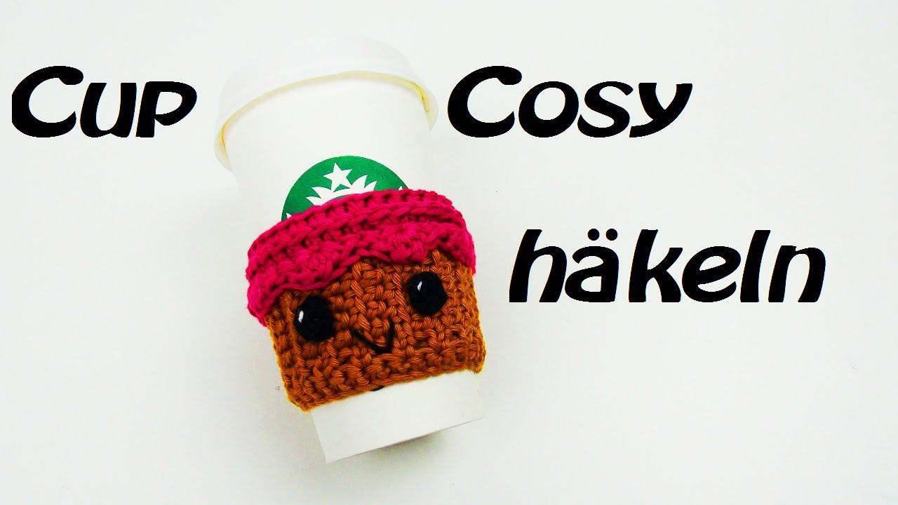 Häkeln Cupcozy - Tassenhalter - individuell anpassen!