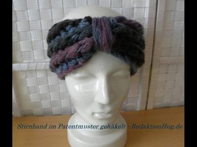 Häkeln - Stirnband im Patentmuster - Veronika Hug - ONline-Garne