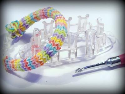 Hexafish Armband mit Monster Tail - Loom Bandz Anleitung deutsch, Hexafish Bracelet