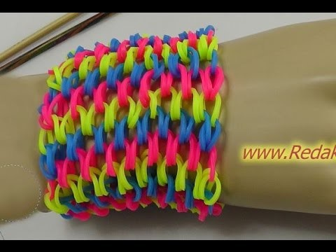 Loom Bands - ohne Rainbow Loom - Deutsch - L