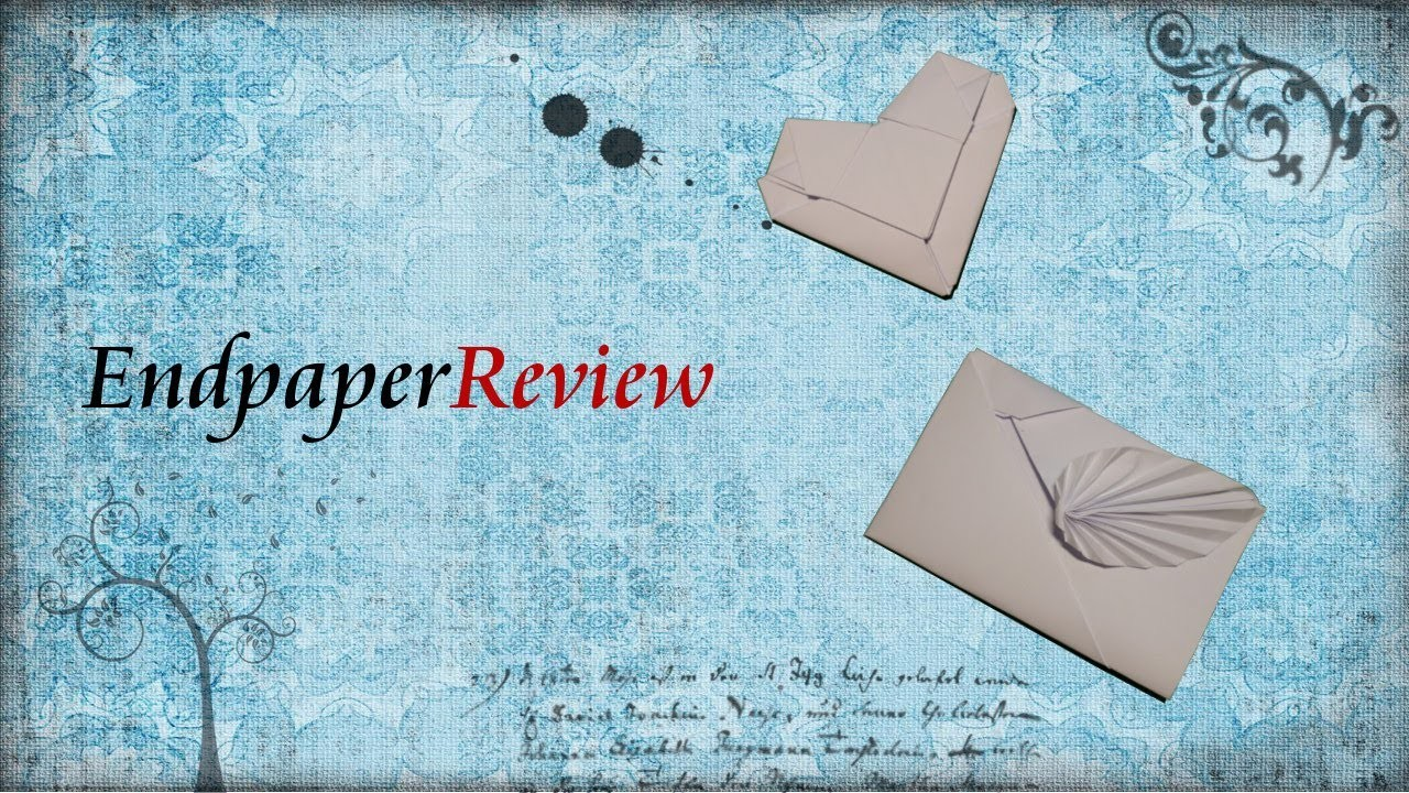 Originelle Briefe selber falten - Tutorial - EndpaperReview