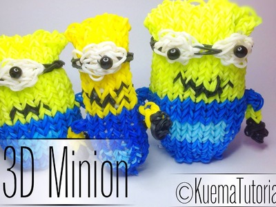 Rainbow Loom 3D Minion | German Tutorial