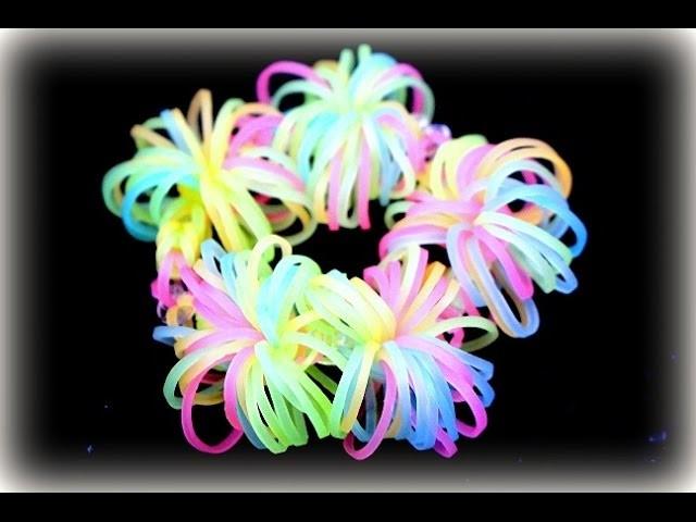 Rainbow Loom Armband Bracelet Loom Bands Loom Bandz (deutsche Anleitung)
