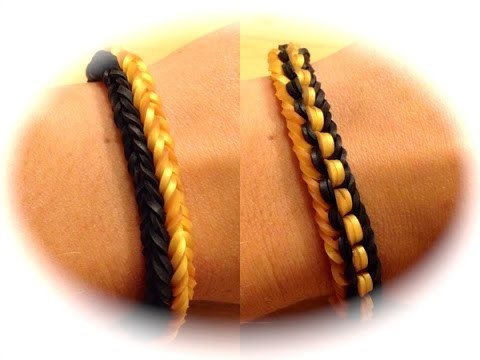 Rainbow Loom Doppel-Knoten-Armband (deutsche Anleitung)