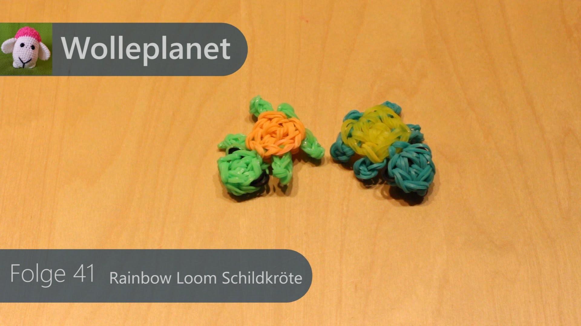 Rainbow Loom - Schildkröte