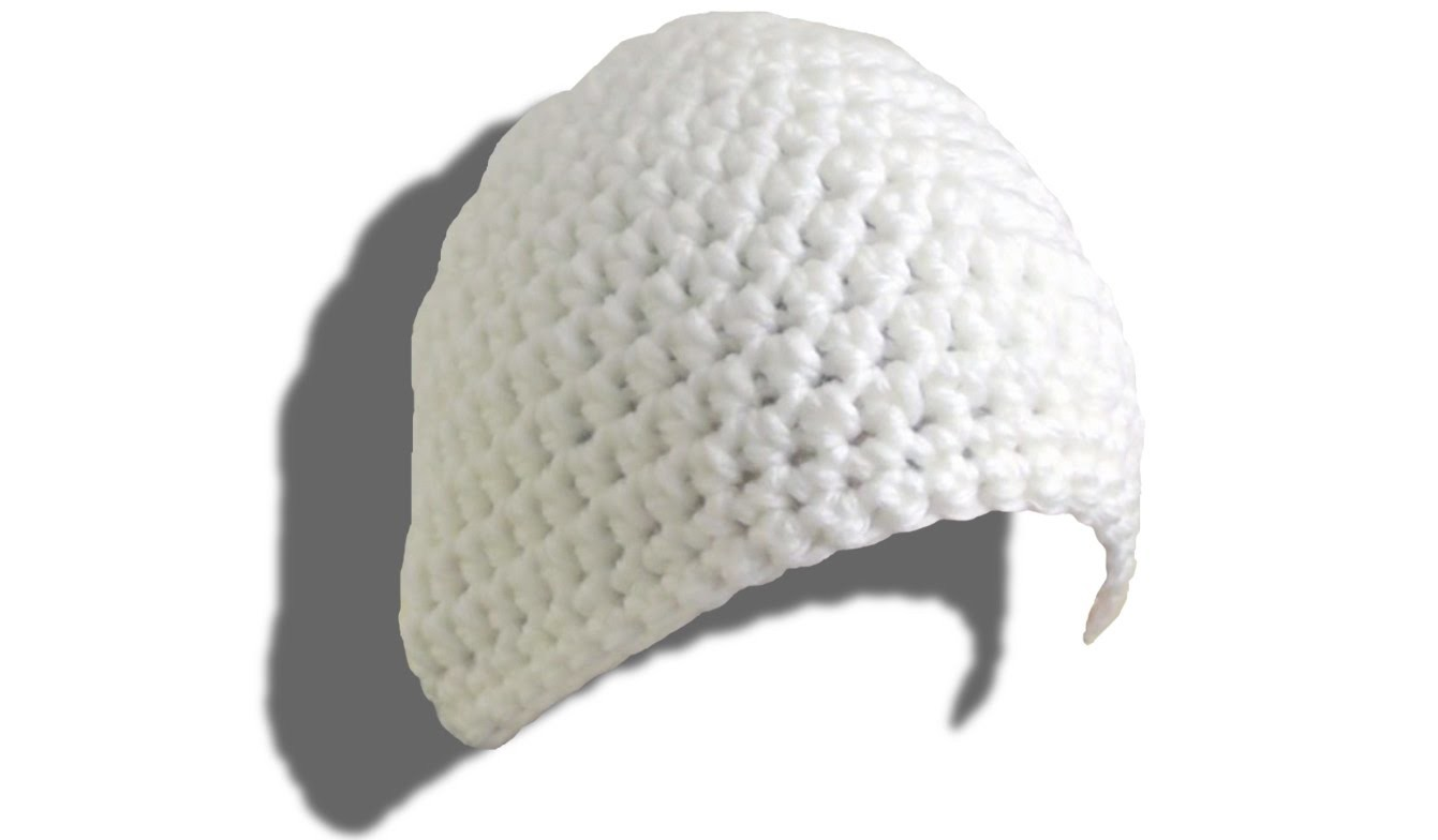 SIMPLE Mütze häkeln lernen für Linkshänder - © Woolpedia