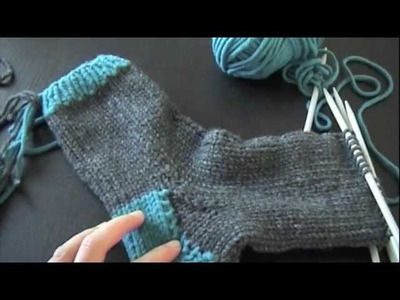 Socken stricken | Teil 7 | Die Spitze!
