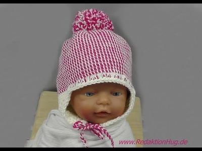 Tunesisch Häkeln - Mütze für Baby - Babymütze von hatnut 133 Teil 1 - Veronika Hug