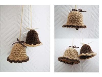 Weihnachtlich häkeln I * Glöckchen * Crochet Bell [eng sub]
