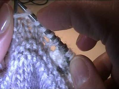 Zunehmen von Maschen - Video