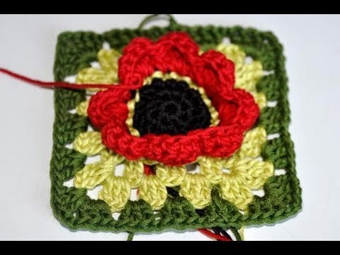 Adventkalender 8 * Granny Square
