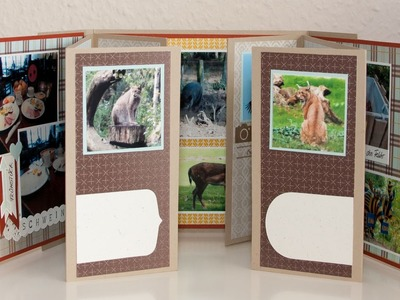 Flip-Flap- Minialbum - Stampin' Up!