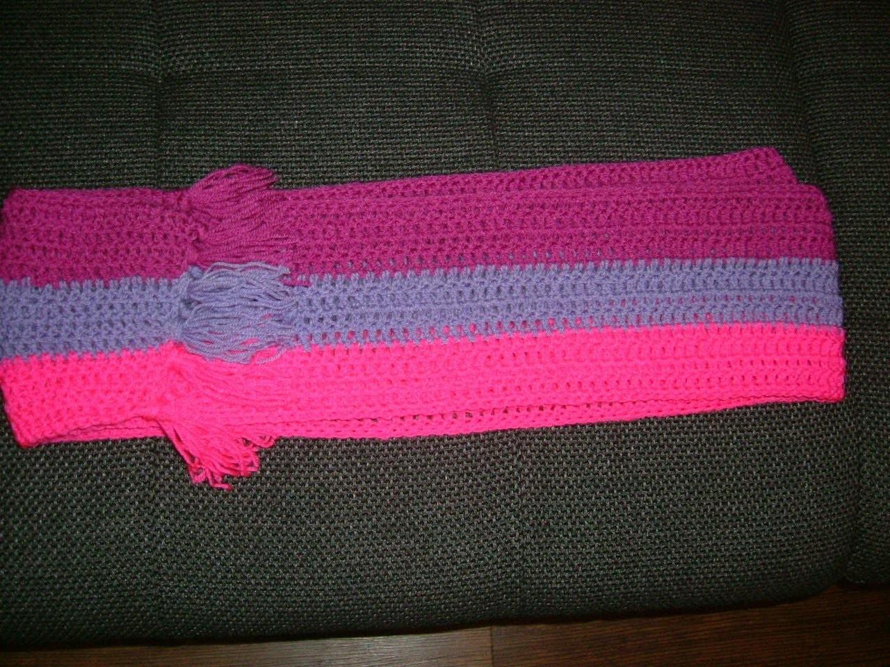 Häkel Anleitung für einen tollen langen Schal