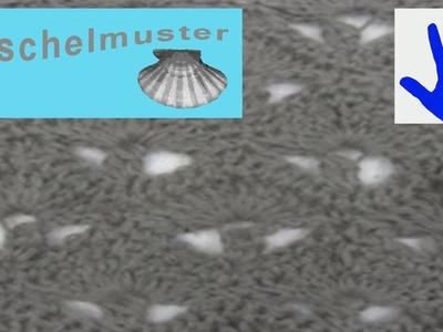 Häkeln - Muschelmuster