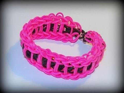 Loom Bands mit Rainbow Loom Doppeltes Leiter Armband (deutsche Anleitung)