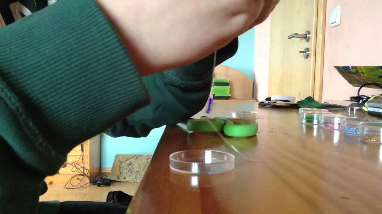 Schmuck selber machen: Armband mit Perlen