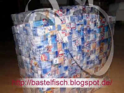 Tetrapak-Tasche Anleitung