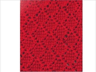 Tunesisch Häkeln - Schal aus Bettinas Muster