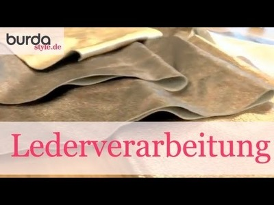 Burda style – Lederverarbeitung