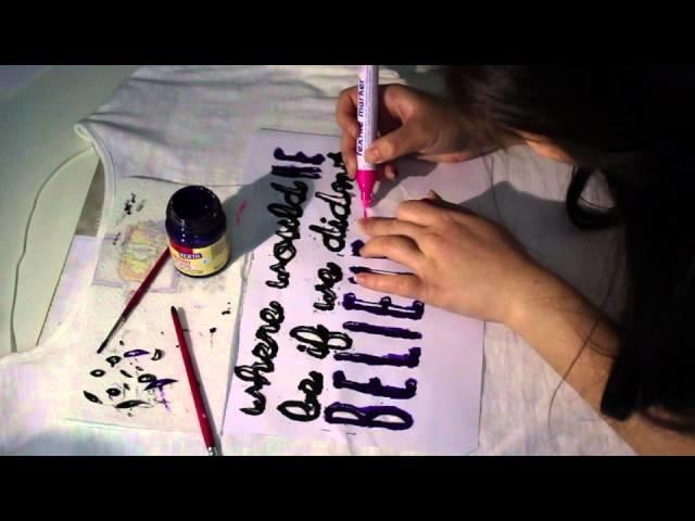 DIY Shirt gestalten [How to] **EINFACH**