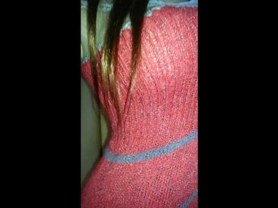 Ein Kleid stricken - die Passform