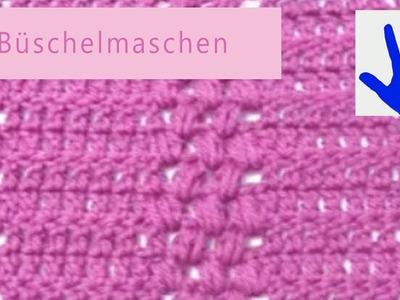 Häkeln - Büschelmaschen - Muster - Material von Debbie Bliss