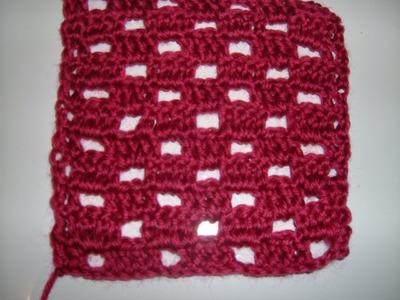 Ihr 21. Quadrat für ihre Patchwork Decke Häkeln das Schachbrettmuster