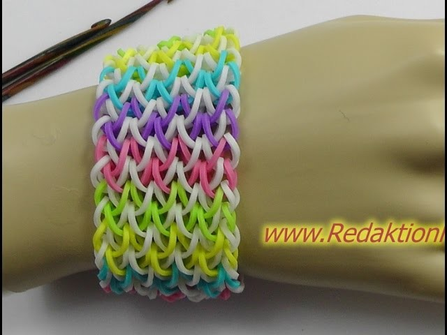 Loom Bands - ohne Rainbow Loom - Deutsch - Q