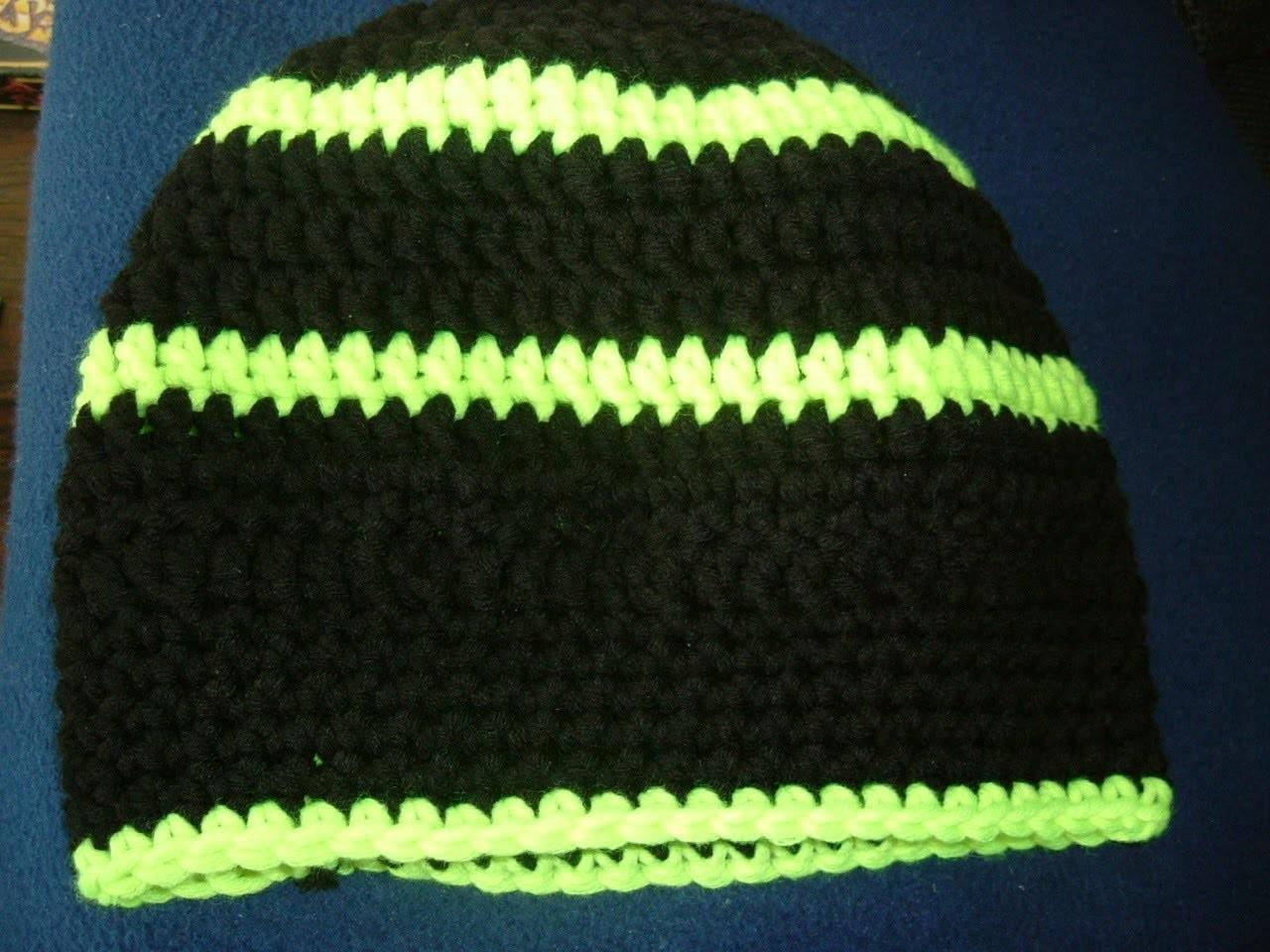 Mütze Häkeln leicht gemacht für Anfänger im coolen Style