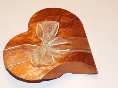 Geschenkbox basteln: Geschenkverpackung für z.B. Geldgeschenke zur Hochzeit.