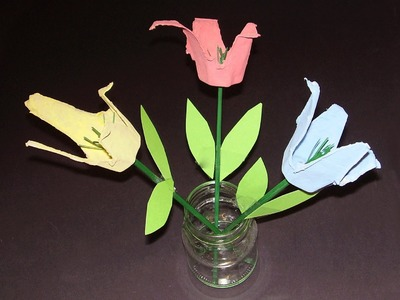 Basteln: Eierkarton Blume