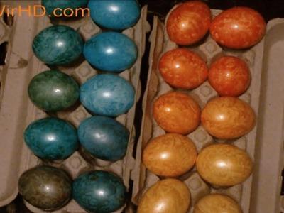 Basteln zu Ostern Eier Färben Eier Bemalen Eier anmalen Ostergeschenk