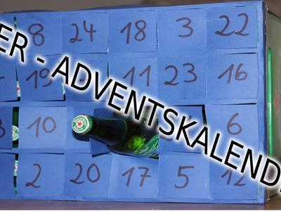 BIER Adventskalender | Schnell Einfach Selber Machen. Basteln - Last Minute Geschenk Für Freund DIY