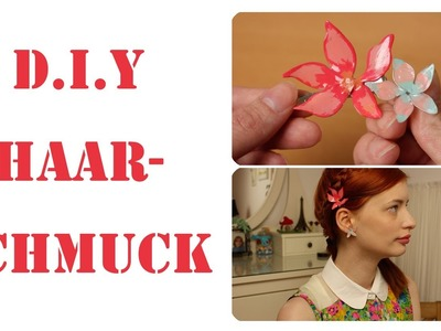 D.I.Y Drahtblumen aus Kleber Draht und Nagellack