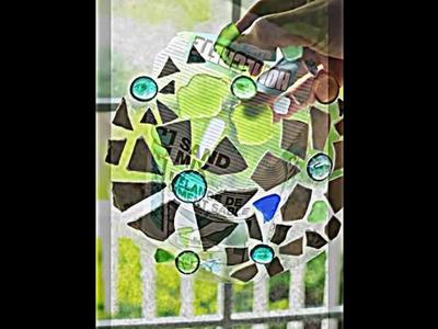 Dekorative Mosaik Trittsteine mithilfe von Backform selber basteln