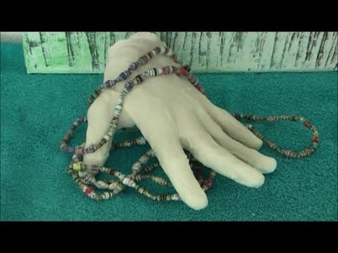 DIY: Gipshand ** Gips Hand aus Modellierbinden basteln selber machen