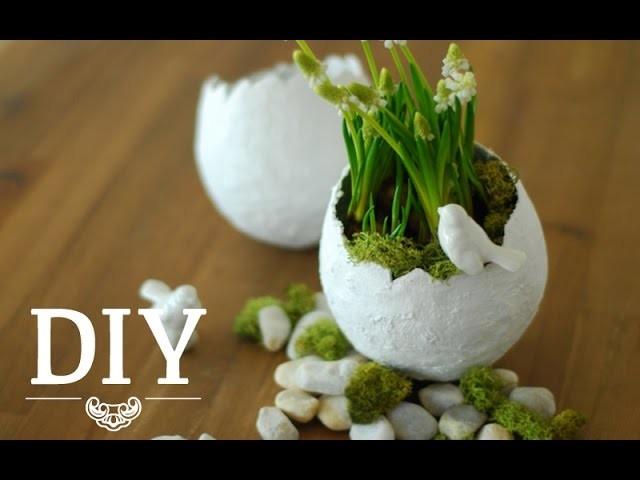 DIY: Hübsche Oster-Deko-Vasen einfach selber machen | Deko Kitchen