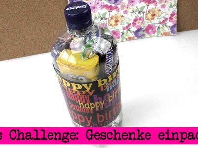 DIY Inspiration Challenge #17 Geschenke verpacken | Evas Challenge | Tutorial - Do it yourself