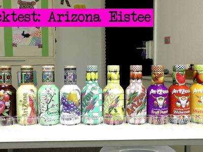 DIY Inspiration Snacktest: Arizona Eistee - Arizona Iced Tea Review - Eva & Kathi testen alle Sorten