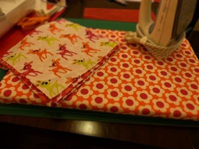 DIY: kleines Bügelbrett für Näharbeiten basteln