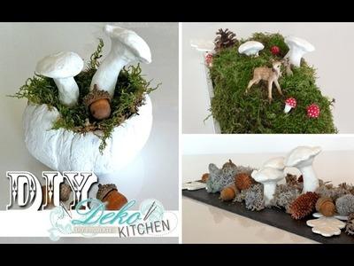 DIY: Schnelle Herbst-Deko mit Fimo-Elementen selber machen | Deko Kitchen