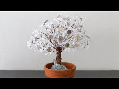 Geld Bonsai als Geldgeschenk für Hochzeit, Geburtstag, Weihnachten