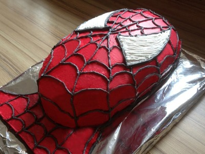How to make a Spiderman Cake Spider-Man Torte selber machen Tutorial