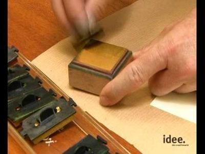 Idee. Tipp Nr. 011 - Stempeln - Grundlagen