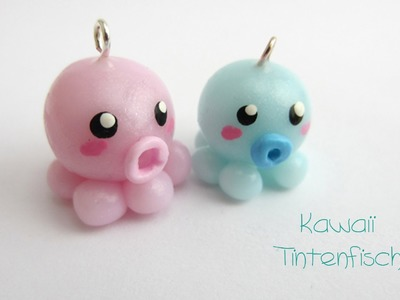 Kawaii Tintenfisch | PULPO  | FIMO Tutorial