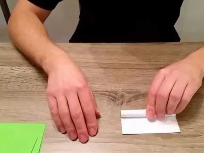 Palme aus Papier ( Basteln mit Papier Nr. 1 )
