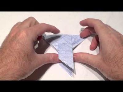 Taube aus Papier falten