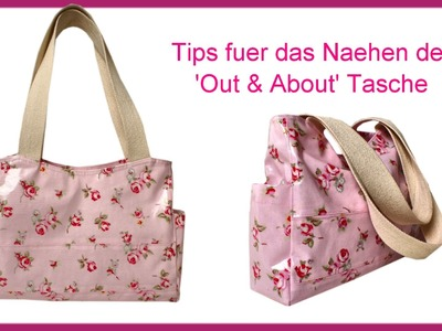 Wie man eine Handtasche näht -  Einführung in das Projekt (Out & About Bag)
