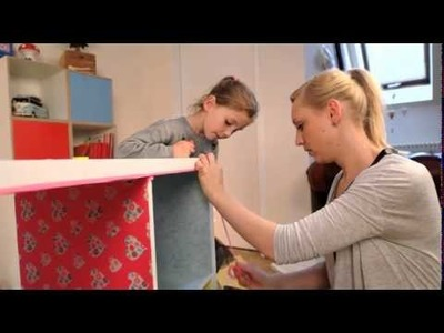 Basteln fürs Kinderzimmer                 So bauen Sie ein Puppenhaus