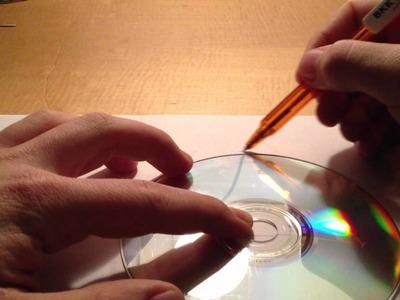 CD Hülle aus Papier falten - CD Hülle basteln